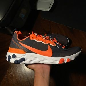 Nike React Element 55 'Denver Broncos' Sz 8